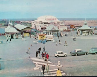 Casino & Pier, Southport ~  Vintage Postcard. ~ Not Posted ~ 1900's.