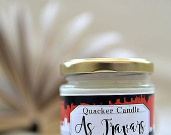 As Travars - soy candle inspired by books, bookish candle, soy candle, book lover, bibliophile, V E Schwab, literary candle, gift