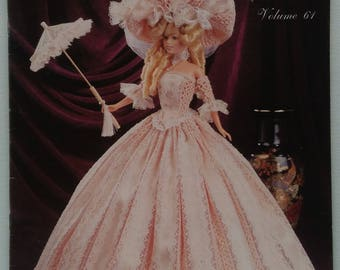 Vintage Paradise Publications 1795 Louisiana Lady Costume Crochet Collector Pattern Volume 61