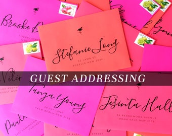 Guest Address Printing | Return Address Printing | Envelope Printing | Recipient Address Printing | Envelope Printing | Envelope