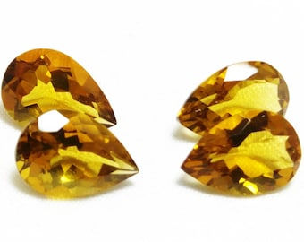 15% OFF Extremly Gourgeous Natural Bear Quartz 12x8 mm Pear Shape ,Pear Cut 4 PC lot ,Top Quality Jewellery Making Gemstone CODE#AHBQ07