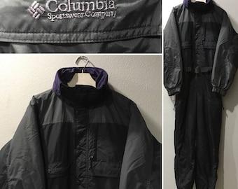 Columbia Sportswear Vintage Ski Suit - Men's Size Small