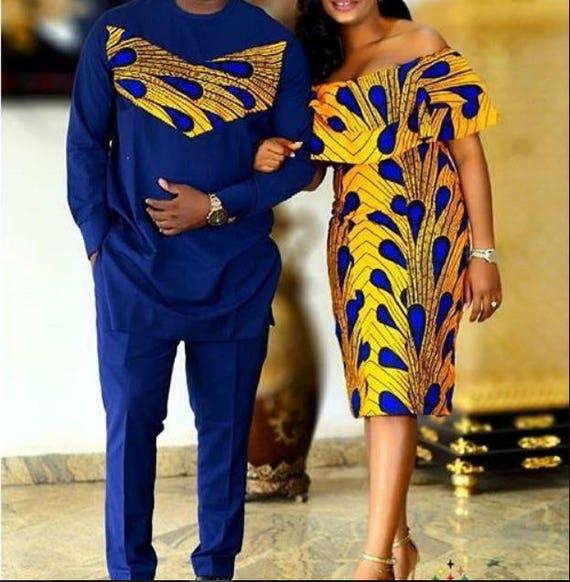 Couple Outfitafrican Setcouplefamily Setmatching-1918