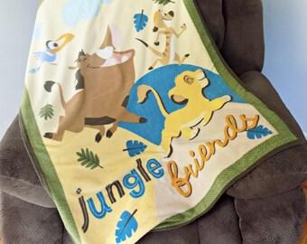 Lion King - Lightweight Blanket - Kids blanket - Disney Blanket - Light Blanket - Child's Blanket
