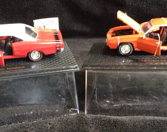 A Pair of Vintage Die Cast Collector Model Cars