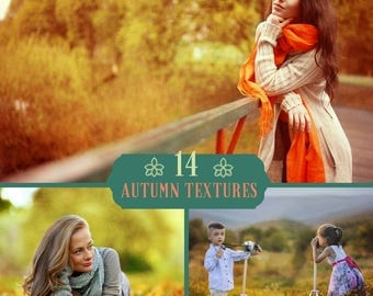12 Autumn Textures, Autumn Overlays, Fall Background, Autumn Texture, Autumn Color, Digital Backdrop, Photography Textures, Fall Overlays