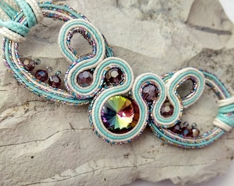 "Choker soutache with the rovoli  ""Fantastic""!"