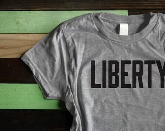 Women's Liberty Support the ACLU tee! Donation T-shirt American Civil Liberties Union anti-trump - donates 20% | charity sizes XS - XXL