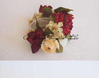Newborn/infant Floral Crown