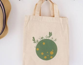 Mini shopping bag, reusable bag zero waste, ethical and eco-friendly gift