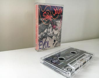 Sonic Youth - E.V.O.L. Cassette (1986) - DGC Records (David Geffen) - RARE