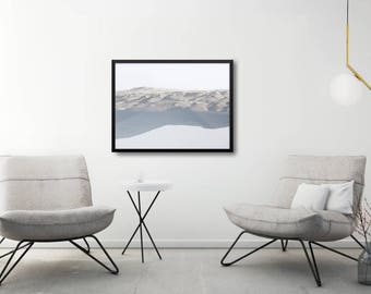 Modern Living Room Wall Decor Gift, Minimal Landscape Poster, Modern Landscape Poster, Modern Nature Poster Gift, Modern Scandi Wall Decor