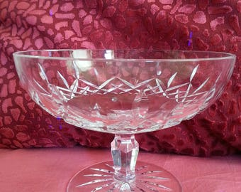 Waterford Crystal compote/candy dish