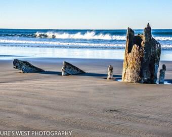 Peter Iredale Shipwreck, Oregon, Landscape Photography, Nature Photography, Fine Art Photography, Wall Art, Home Decor, Gift