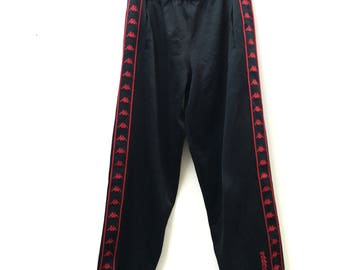 "Vintage KAPPA Track Pants Made Japan Size M"" Jaspo"
