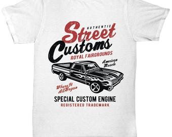 Street Customs America Muscle T-shirt