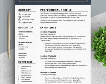 Professional RESUME template CV template Resume templates Design resume Modern resume design CV templates Creative resume Shannon Woodward