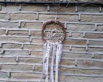 Woven White Lace Dream Catcher