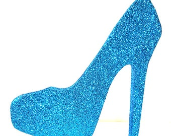 Styrofoam Stiletto High Heel Shoe Cut Out,centerpiece,shopping,shoes,heels,styrofoam shapes,shoe cut outs,styrofoam,stiletto heel cut out
