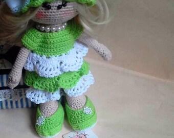 Doll  Crochet  Doll Amigurumi Princess Crochet  soft toy  Tilda