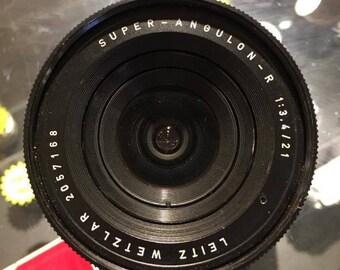 Leica Super-Angulon-R 21mm f/3.4