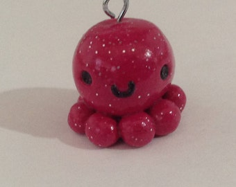 Sparkle Octopus Charm