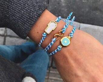 Cross Bracelet, Infinity Bracelet, Evil Eye Bracelet, Evil Eye Jewelry, Greek Bracelets, Greek Jewelry, Women's Jewelry, Gift for Her