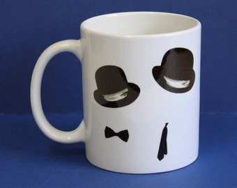 Laurel and Hardy double sided Hats Mug