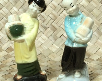 Vintage 1950s Asian Figurines