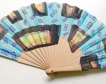 Unique hand fan design 6