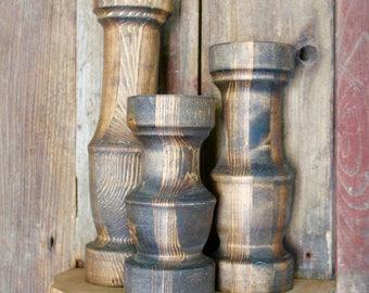 Candlestick, Candle Holder Triplet