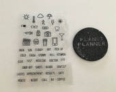 Planner Stamps, Health Planner Stamps, Weather Planner Stamps, Lifestyle Planner Stamps, Health Stamps, Weather Stamps, Medical Stamps.