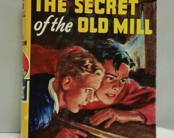 """The Hardy Boys - """"The Secret of the Old Mill"""" hardcover book"""