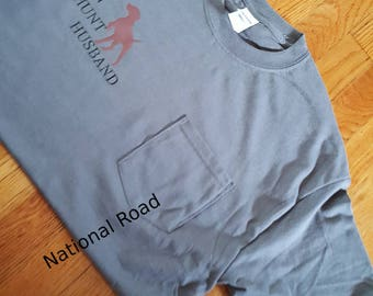 Barn Hunt Husband or Wife T shirt, with or without a pocket