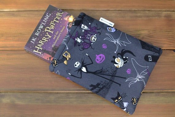 Nightmare Before Christmas Grey Book Sleeve