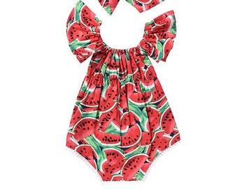 Baby Watermelon Dress