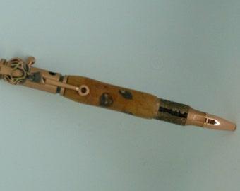 Handmade Deer Antler Bolt-Action Pen/Price Match/LIFETIME WARRANTY