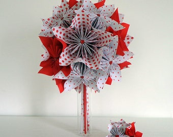 Creating reserved - abylou6 - origami Wedding Bouquet