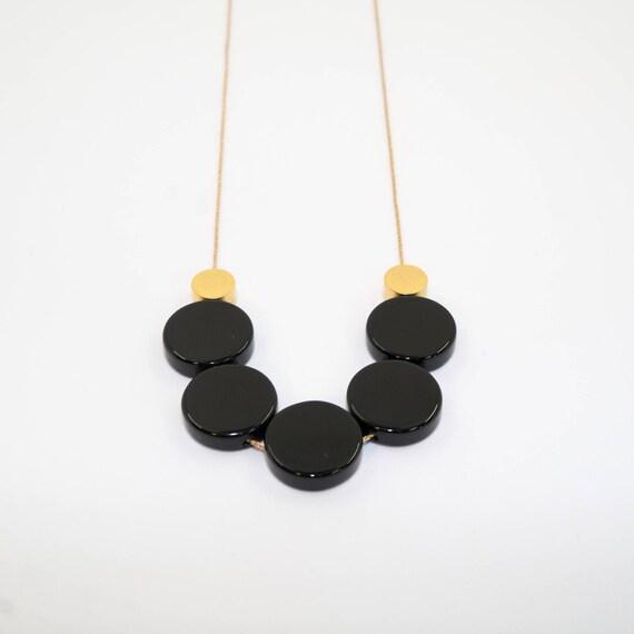 BLACK COINS Goldfilled