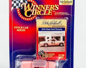 Winner's Circle 1998 Dale Earnhardt 1956 Pink Ford Victoria 1/64 Scale Diecast