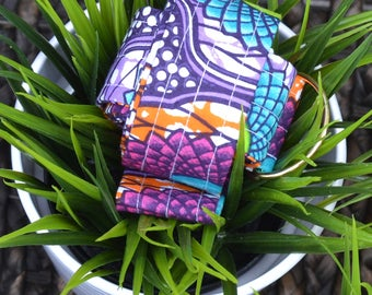 African Wax Print Yoga Mat Strap/Sling