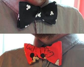 Mickey Mouse Self Tie Bowtie