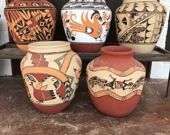 Authentic Southwestern Pottery