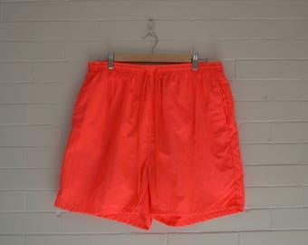 Men's Neon Pipeline Swim Shorts