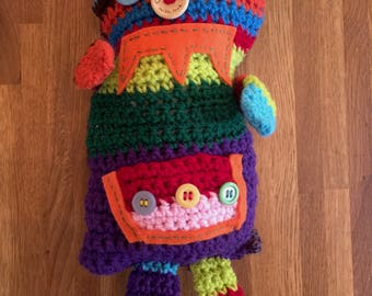 Worry Monster, Crochet