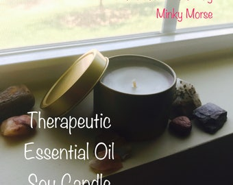 UNWIND • Therapeutic Essential Oil Soy Candle
