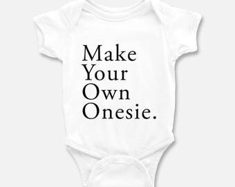 Custom baby onesie etsy negle Images