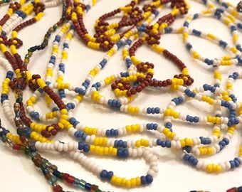 Vintage Tiny Beaded Necklace Lot of Four