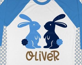 Easter SVG - Bunny svg - Rabbit svg - Boys svg - Holiday svg - Spring svg - Kids svg - Monogram svg - Baby svg - Shirt svg - png,pdf,eps,dxf