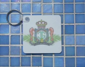 Casa Guacamole keychain